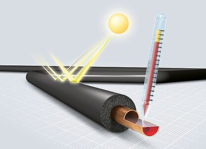 Nitrile Rubber HT Solar Pipe Lagging Sections