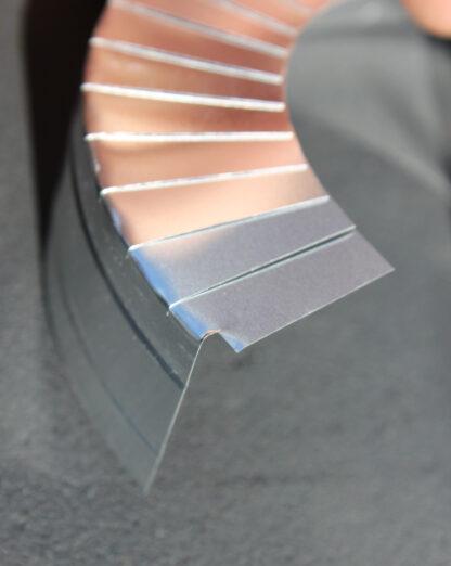Aluminium Endcapping Detail