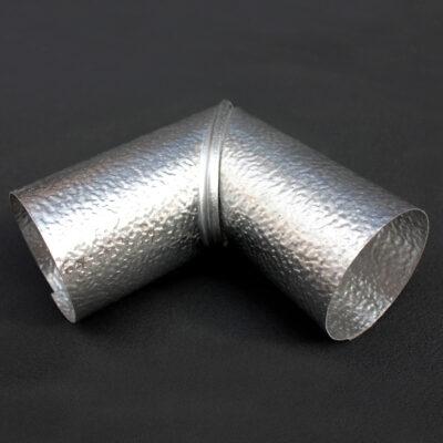 90 Degree Aluminium Pipe Cladding Elbow
