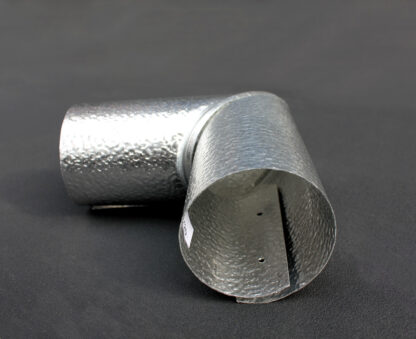 90 Degree Aluminium Pipe Cladding Elbow Detail