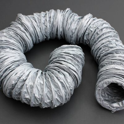 PVC Grey Glassfibre Reinforced Ducting